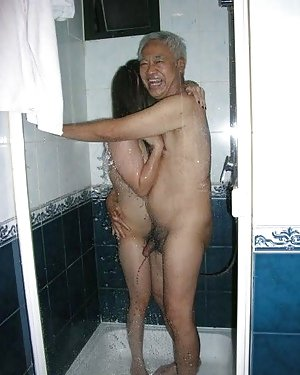Asian in Shower Photos