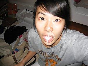 Asian Cumshots Photos