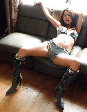 Asian in Shorts Photos