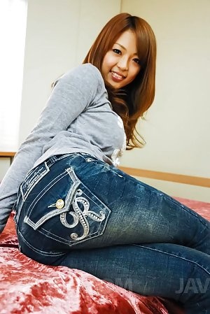 Asian in Jeans Photos