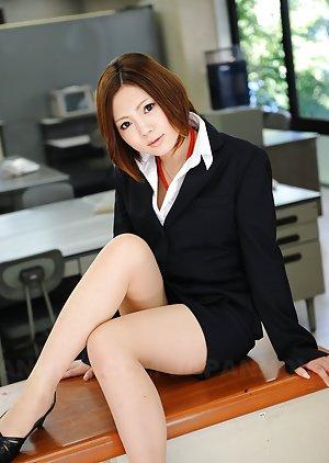 Asian Mini Skirt Photos